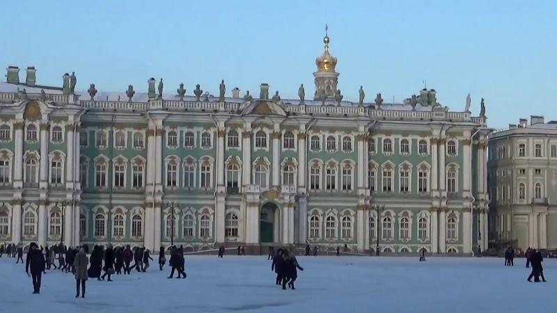 Пешая прогулка по Санкт-Петербургу