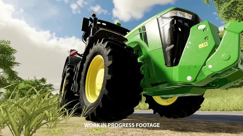 Farming Simulator 19 John Deere 8400R Featurette