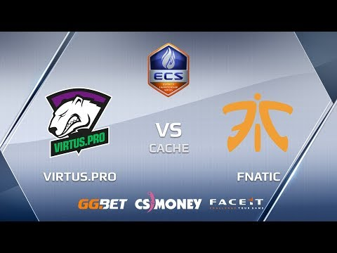 VirtusPro vs Fnatic ecs season 6 europe