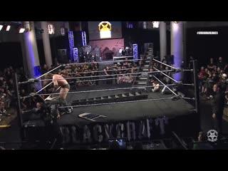 Реслинг Сатанистов [FREE MATCH] Burning Bridges 2018_ Matthew Justice vs Stockade vs Demarcus Kane