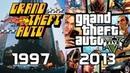Evolution of Grand Theft Auto Games 1997-2013
