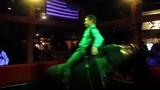 Man Dances on Mechanical Bull