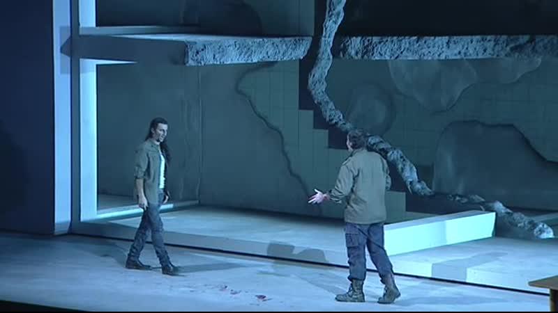 Al tradimento! … Amici in vita e in morte - La forza del destino. Act III. Kaufmann - Tézier (Bayerische Staatsoper 2013)