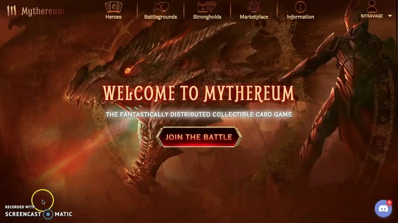 *AN AMAZING STORY UNFOLDS! - Mythereum New Strategy and Story RELEASE WIN GENESIS PACK GIVEAWAY!*