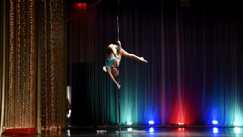 5 3 Pole dance acrobatic любители Соломахо Ксения
