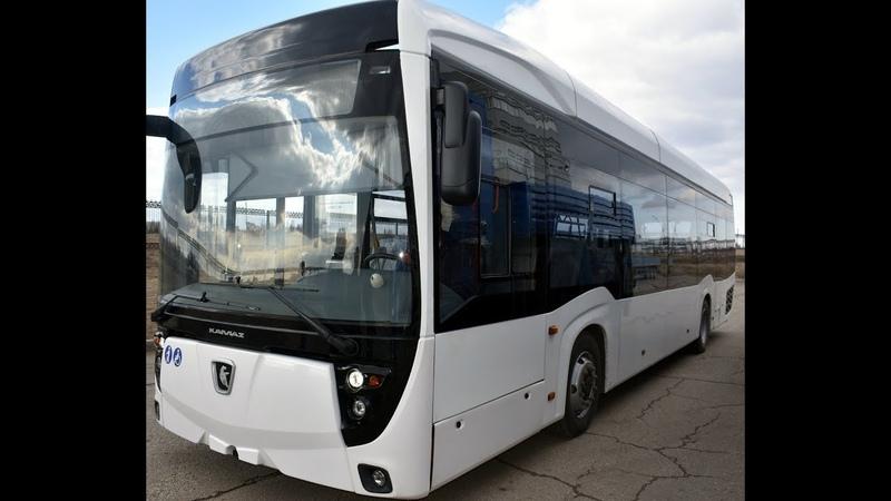 КАМАЗ-6282 в движении: как едет российский электробус? Блог-тур на КАМАЗ (26.04.2018)