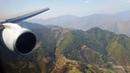 Nepal Airlines B757-200 Approach, Landing Disembarking at Kathmandu