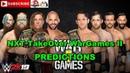 NXT TakeOver WarGames II Ricochet Pete Dunne War Raiders vs Undisputed ERA Predictions WWE 2K19