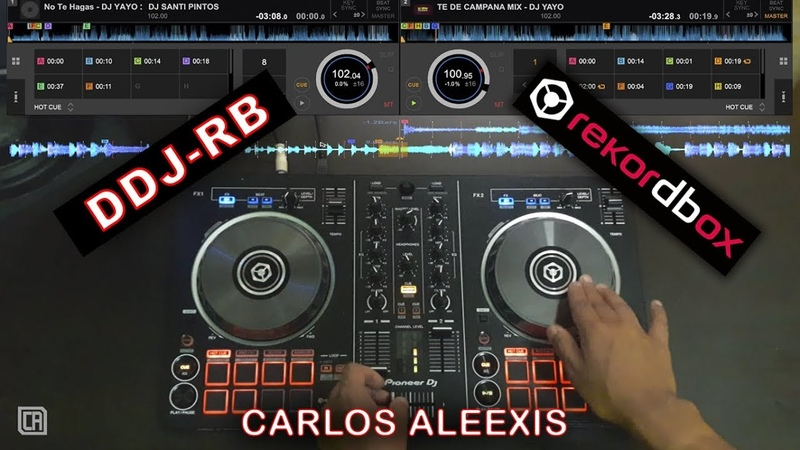 Pioneer DDJ-RB - Mix Turro Euro-Reggae - Rekordbox Dj 5 - Dj CARLEEX - 2017