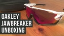 Oakley Jawbreaker Unboxing - Polished white Prizm Road