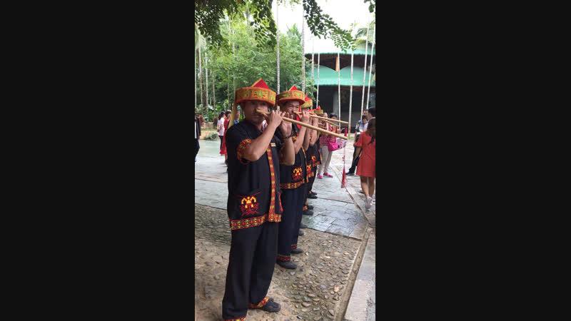 Игра на носовой флейте