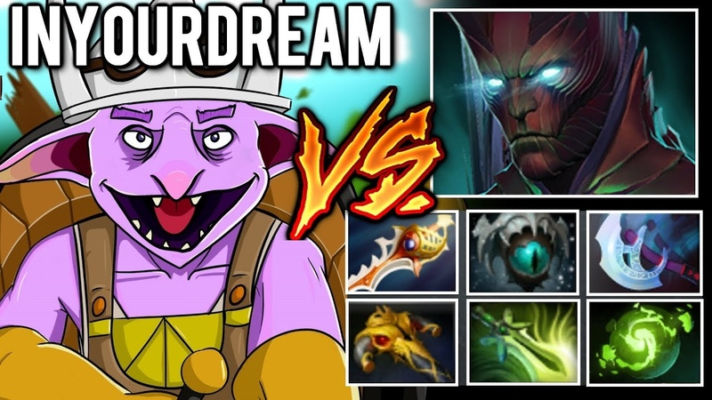 INYOURDREAM Timbersaw Hard Game against ICEICEICE Terrorblade