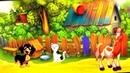 Песенки для детей. Животные на ферме. Как говорят животные. Мультфильм для самых маленьких