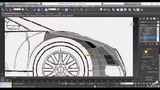 Car Modeling in 3ds Max Tutorial Modeling low poly Bugatti Veyron in 3DS Max Lesson - 2