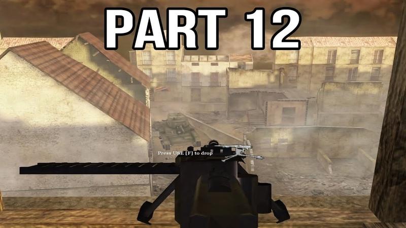 Call of Duty 2 Spanish Civil War Gameplay Part 12 - Belchite Defense