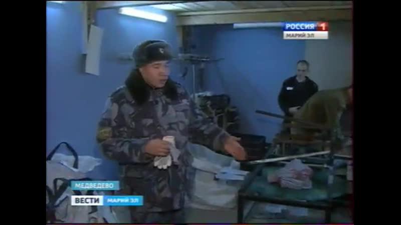Вести Марий Эл В Медведевской колонии развивается собственное производство