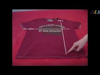 Как сложить футболку за 2-е секунды (6 sec)