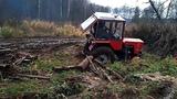 Тракторы Т-25, Т-30 месят грязь на бездорожье! Мал золотник да дорог! Подборка