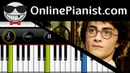 John Williams - Hedwigs Theme [Harry Potter] - Beginner Piano Tutorial