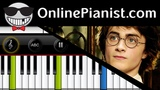 John Williams - Hedwigs Theme Harry Potter - Beginner Piano Tutorial