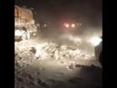 Схождение лавины на Ай Петри 04 01 2019