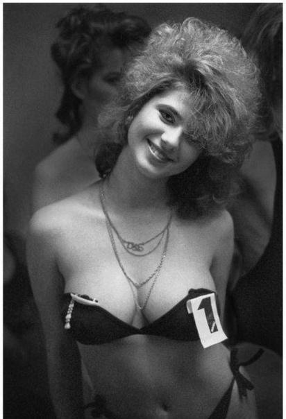 Первый конкурс красоты в CCCP. 1988 год.