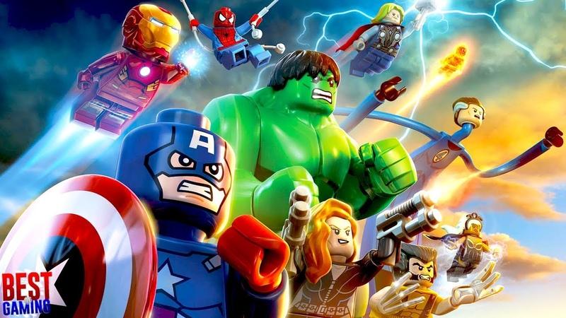 LEGO Marvel Super Heroes Walkthrough Full Game 100%