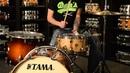 Dale's Drum Shop - Tama 13x7 Starphonic Mappa Burl Snare Drum