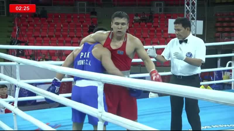 Казахстанский чемпион Исламиады выиграл свой первый бой на чемпионате Азии-2019
