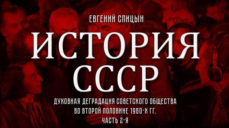 Спицын История СССР 155 Советское общество во второй половине 1980 х гг Часть 2 я