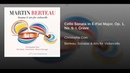 Cello Sonata in E-Flat Major, Op. 1, No. 5: I. Grave