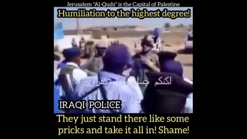 WATCH THE AMERICAN MARINES TRAINING THE IRAQI POLICE‼️ HUMILIATION TO THE HIGHEST DEGREE