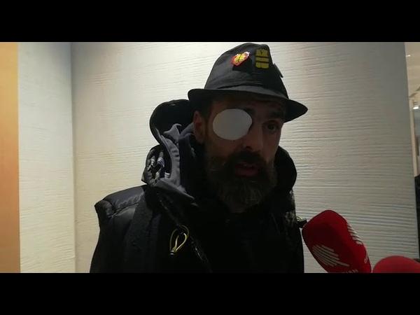 Jérôme Rodrigues venu soutenir Christophe Dettinger à son procès