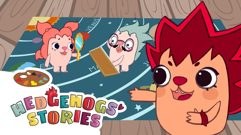 New cartoon series for kids 2019 Hedgehogs Stories Mustache