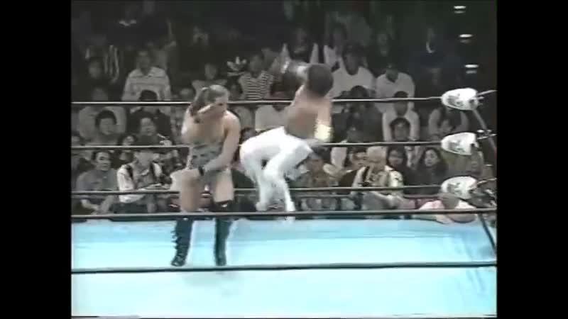 1996.09.28 - Rob Van Dam/Maunakea Mossman vs. Tsuyoshi Kikuchi/Kentaro Shiga [JIP]