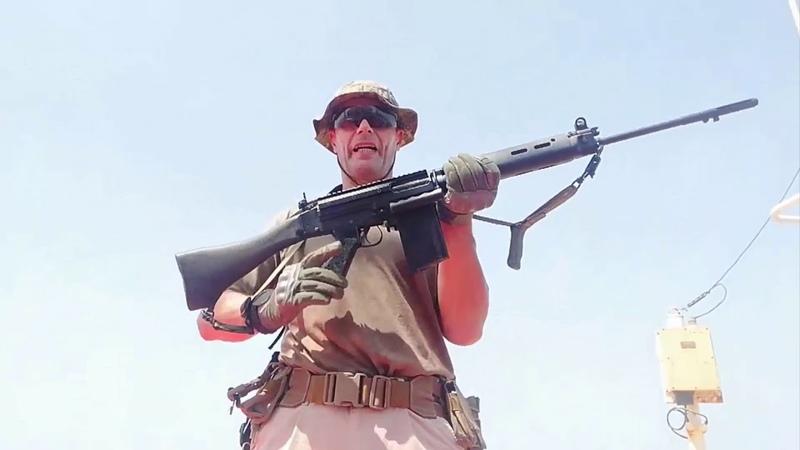 Бельгийская винтовка FN FAL неполная разборка сборка