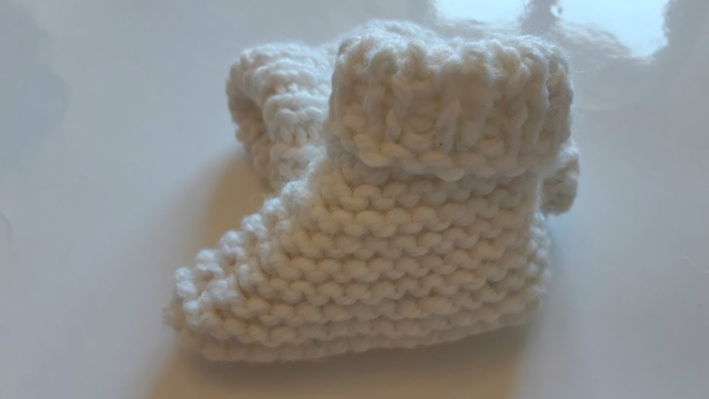 Вяжем быстро и красиво детские носочки. Tasha Derkach