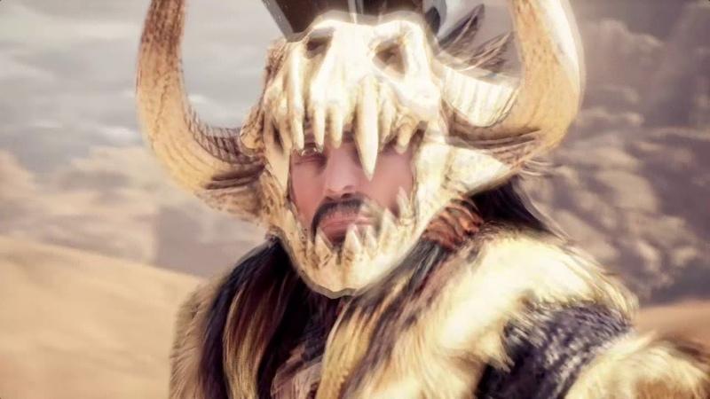 Буря в пустыне Monster Hunter World