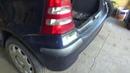 MersedesW168 A klasa снять задний бампер