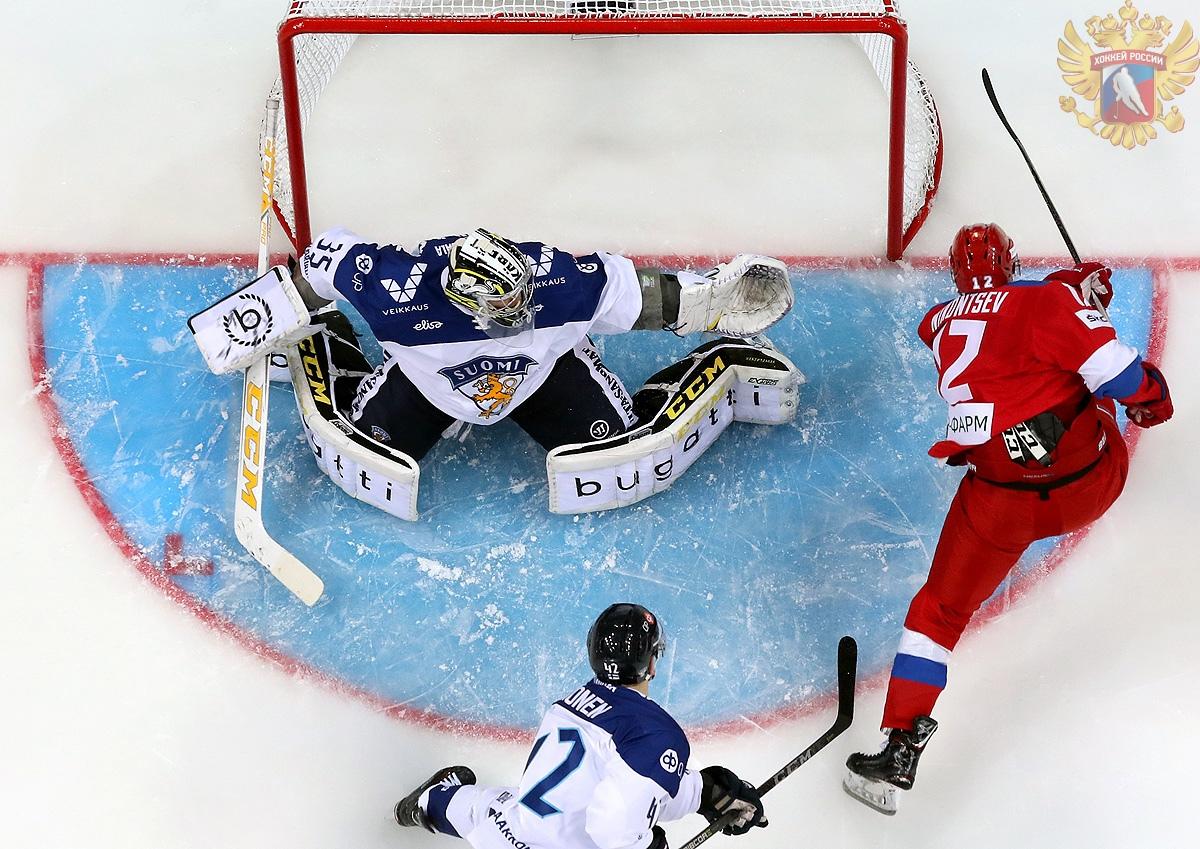 Анатолий Никонцев. Сборная России по хоккею