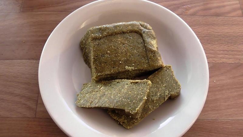 Халва из молотых семечек тыквы с медом