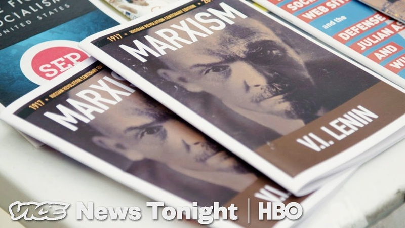 We Went To Karl Marx's 200th Birthday Party In New York City (HBO)