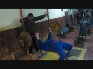 Субботин Алексей жим 160 кг на 3 раза