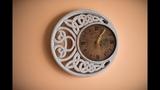 Оригинальный часы в кельтском стиле Original clock in Celtic style