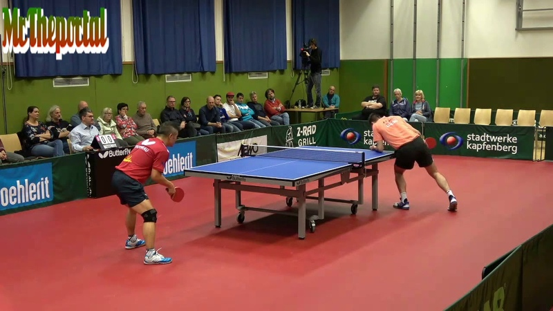 Table Tennis Austria Bundesliga 2018 19 Chen Weixing Vs Frane Kojic