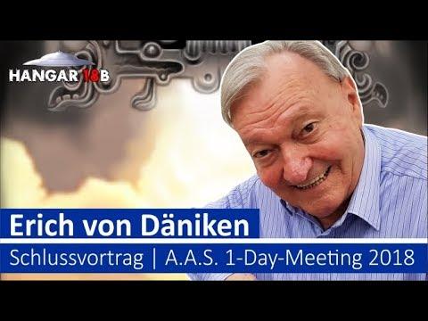 Erich von Däniken - Schlussvortrag - A.A.S. 1-Day-Meeting 2018