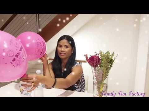 BALLOON FUN FOR KIDS 🎈 I 💜 SHOPKINS! Pink Balloons!!
