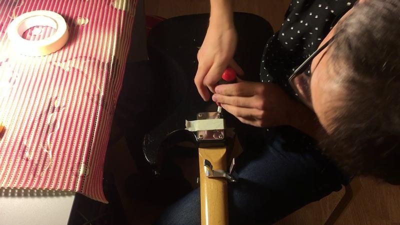 Ноу хау при замене звукоснимателей или регулировке анкера - Cнятие грифа без снятия струн