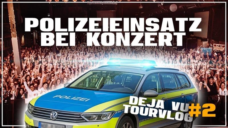 TOURVLOG 2 ✖️ POLIZEIEINSATZ BEI KONZERT ✖️ ZÜRICH, BASEL, BIELEFELD