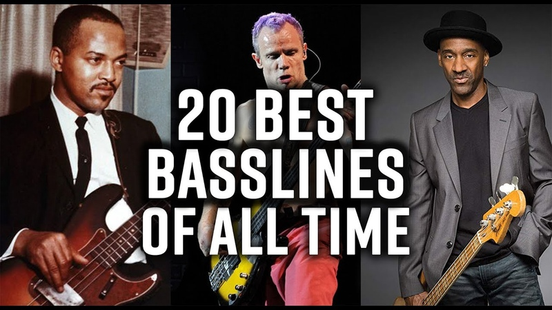 The 20 best bass lines of all time